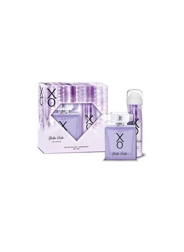Xo Bella Vista Edt 100Ml+Deo150Ml Kadın Parfüm Set Renksiz